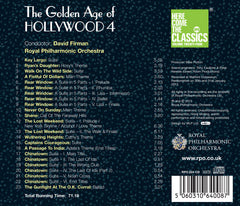 The Golden Age of Hollywood 4 (Here Come the Classics Volume 24) [Album download]