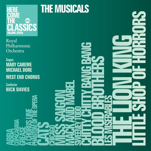 The Musicals (Here Come the Classics Volume 7)