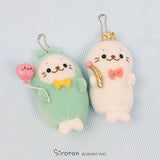 Sirotan Keychain - Rabbit (20th Anniversary)