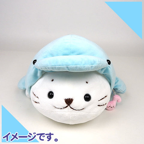 Sirotan Mascot - Blue Dolphin (2 sizes)