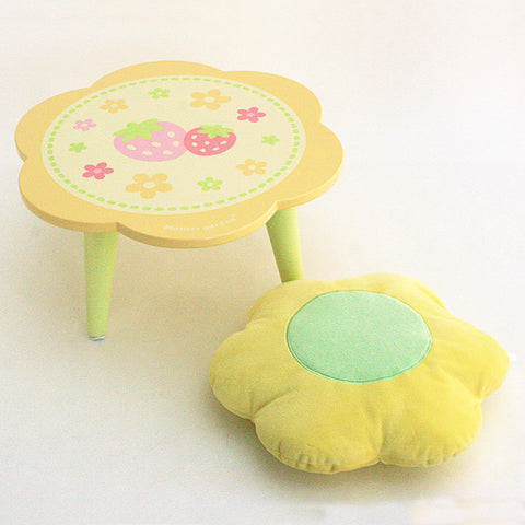 Flower Table & Cushion Set