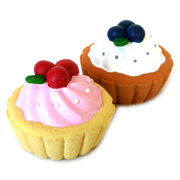Fruit Tart Pet Toy (2 designs)