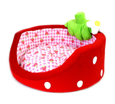 Strawberry Pet Bed (2 colours)