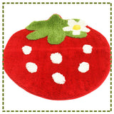 Red Strawberry Carpet (2 sizes)