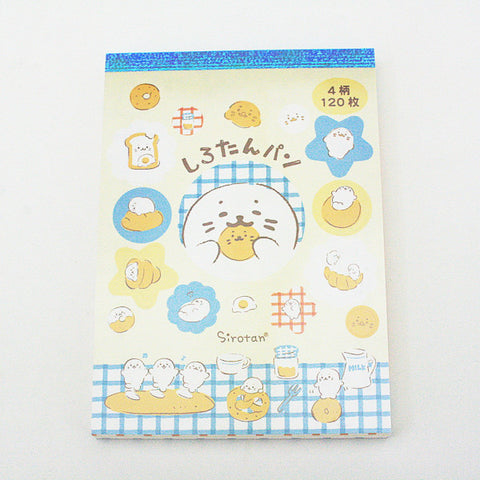 Sirotan A6 Note Pad - Bread Series