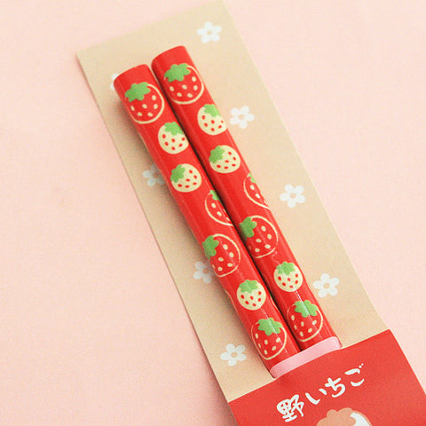 Strawberry Chopsticks