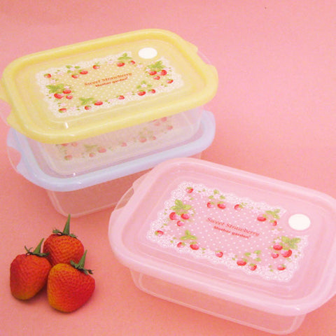Strawberry Food Container Set