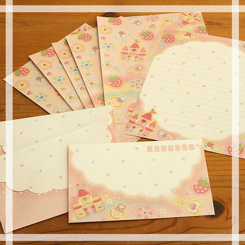 Strawberry Letter Set