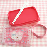 Usamomo Single Tier Lunch Box