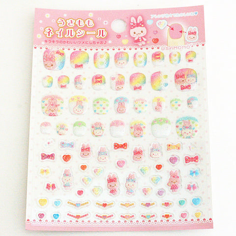 Usamomo Nail Stickers (3 designs)