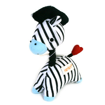 Zebra Pet Toy