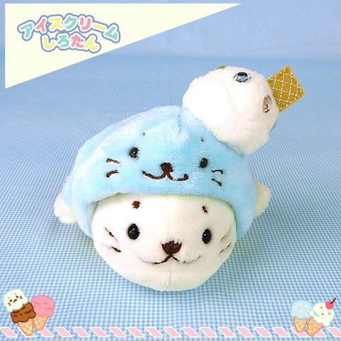 Sirotan Mascot - Blue Ice Cream (2 sizes)
