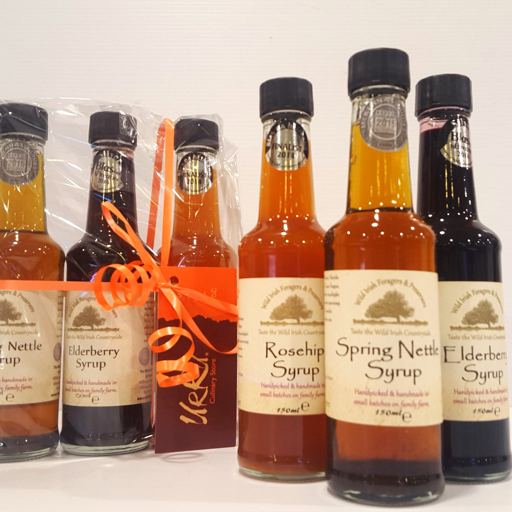 Wild Irish Foragers Wellness Syrups Selection Pack