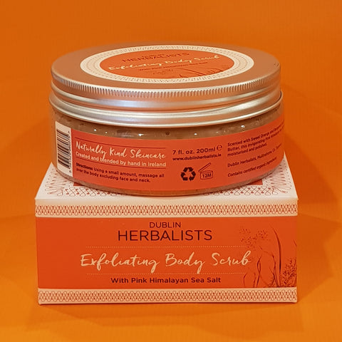 Dublin Herbalists Exfoliating Body Scrub