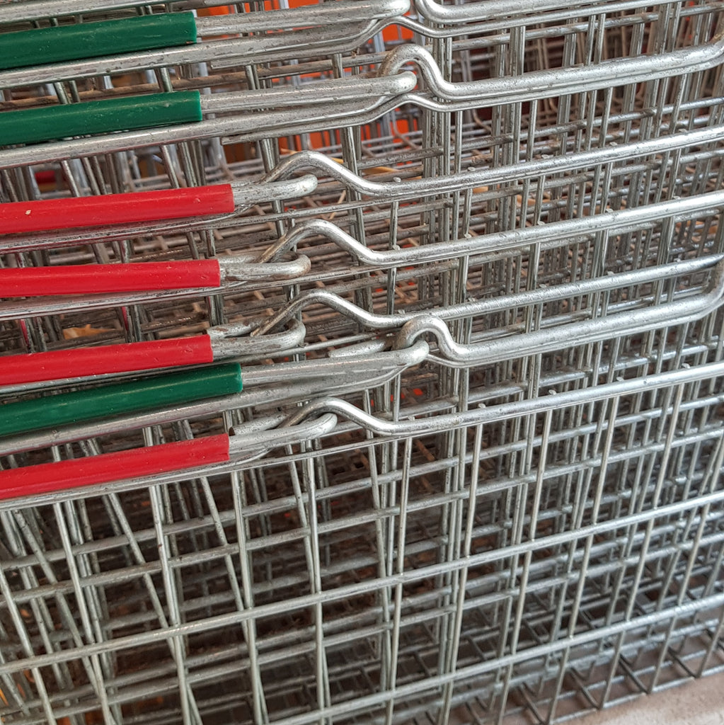 Pre-used Shopping Baskets