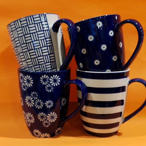Mugs - Set of 4 - 40% OFF