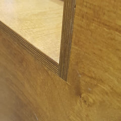 Birch Ply Display Unit
