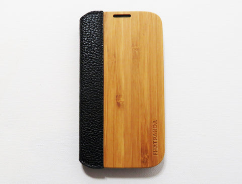 Samsung Galaxy S4 Bamboo Cover (Flip Series)