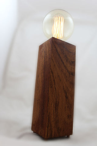 Wooden Carbon Filament Lamp (Large Tower) - discontinued