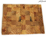 End Grain Timber Cutting Board - Bevel egde (rectangle)