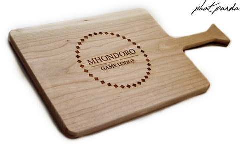Large Rectangle Cherrywood serving/cutting board