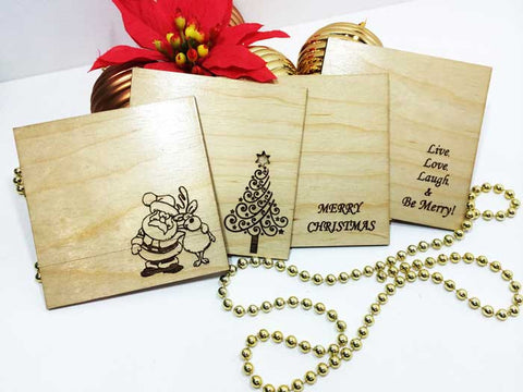 Chistmas Combination Coasters (Set of 4)