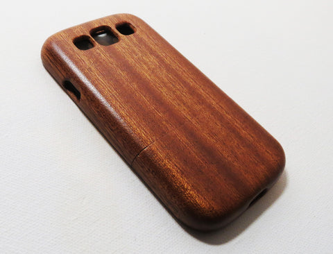 Samsung Galaxy S3 Sapele Wood Cover (Classic Series)