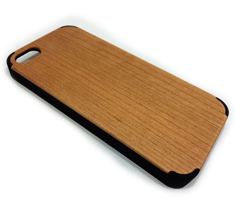 iPhone 5/5S Cherry Wood Cover (Smart Series)