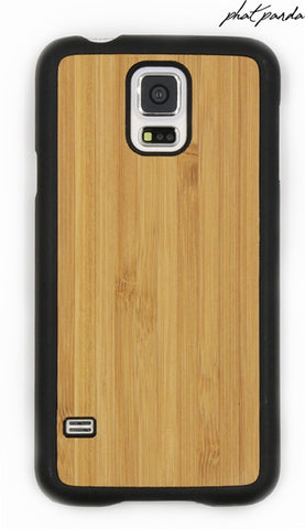 Samsung Galaxy S5 Bamboo Cover