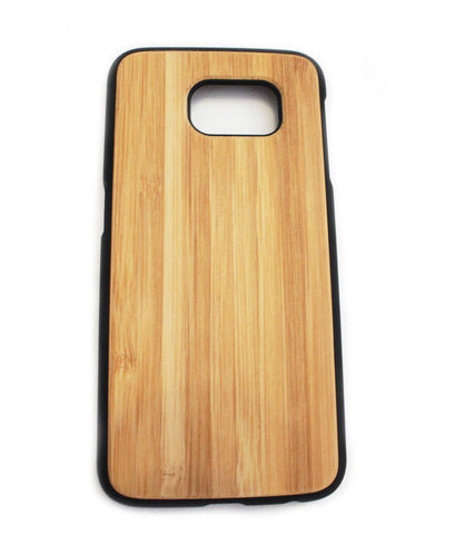 Samsung Galaxy S6 Bamboo Cover (Smart Series - rounded)
