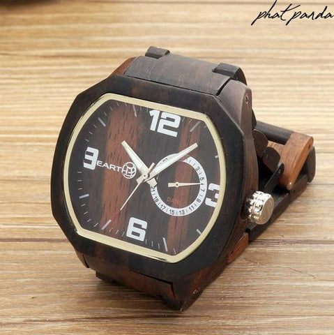 Earth wood watch - Black sandal wood - LIMITED EDITION