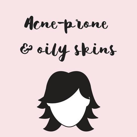 Natural skincare for oily and acne prone skins