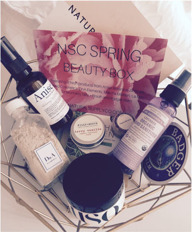 Natural Supply Co Spring Beauty Box