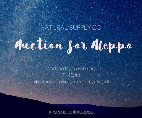 Natural Supply Co Auction for Aleppo