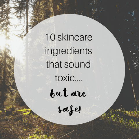 10 natural ingredients which sound like chemicals