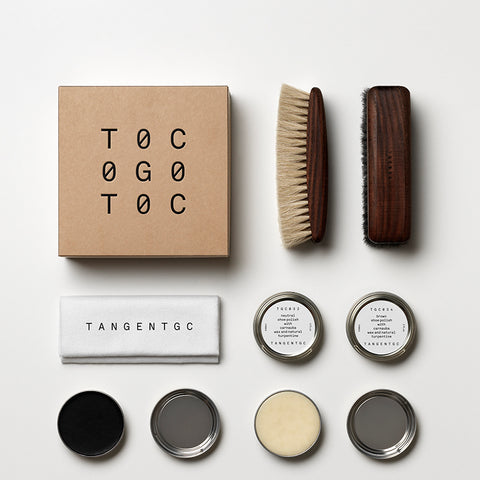 Tangent Garment Care Shoe Care Set at Natural Supply Co
