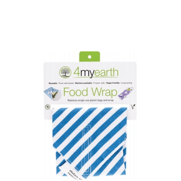 4MyEarth Food Wrap - Denim Stripe online at Natural Supply Co