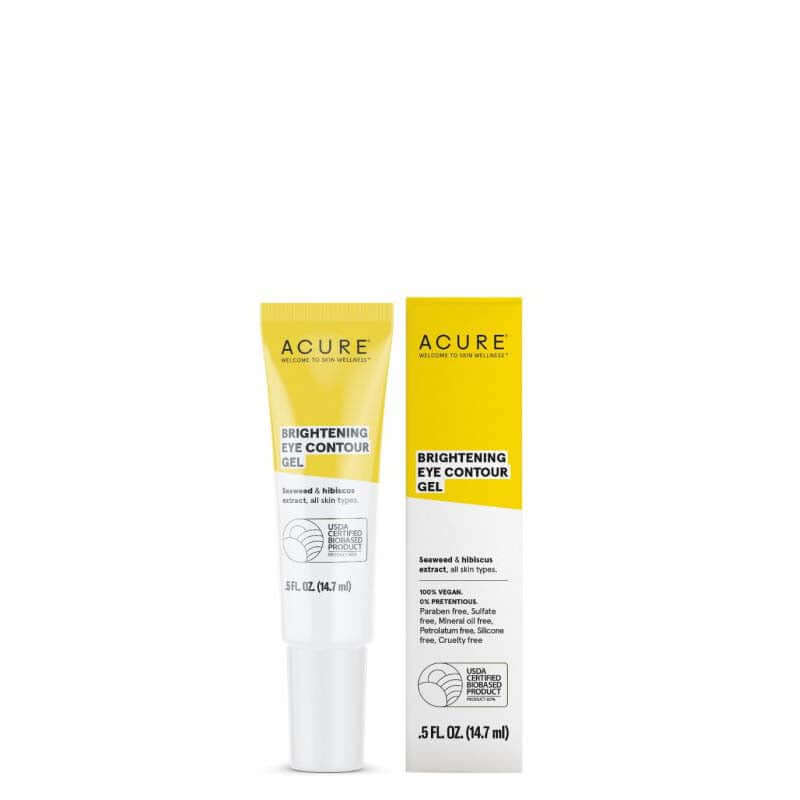 ACURE Brightening Eye Contour Gel - Natural Supply Co