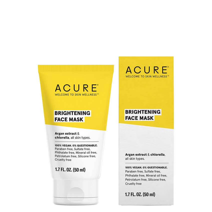ACURE Brightening Face Mask - Natural Supply Co