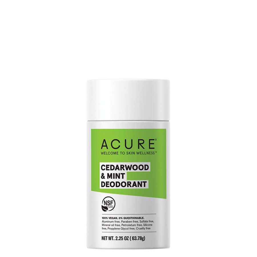 ACURE Deodorant - Cedarwood & Mint - Natural Supply Co