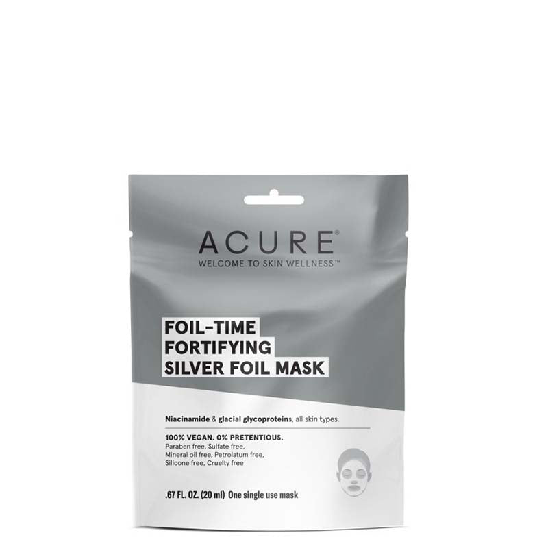 ACURE Foil Time Fortifying Silver Foil Mask online Australia