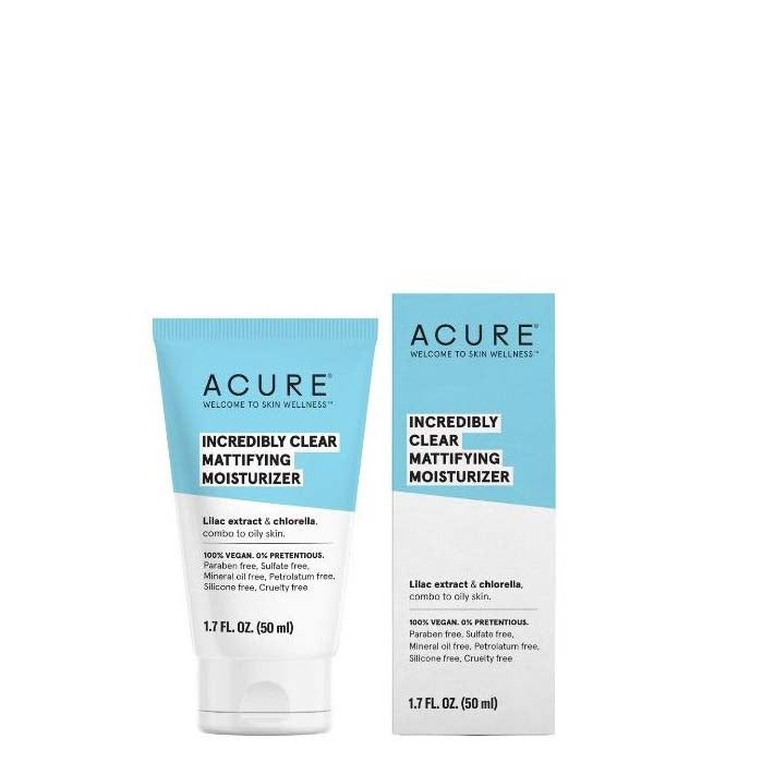 ACURE Incredible Clear Mattifying Moisturiser - Natural Supply Co