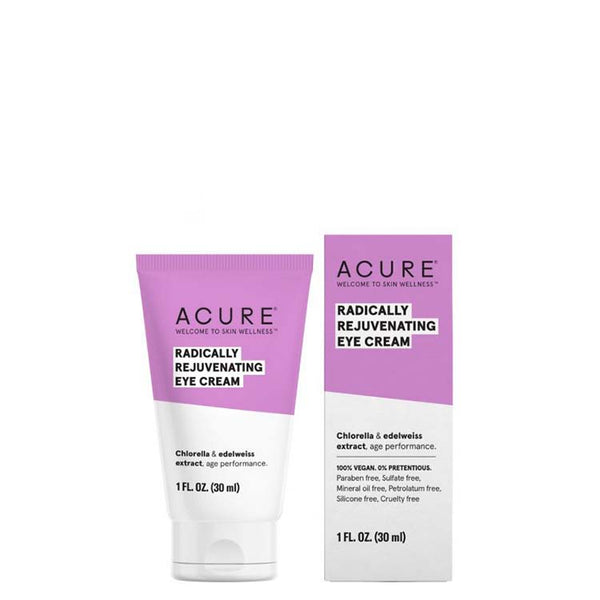 ACURE Radically Rejuvenating Eye Cream online at Natural Supply Co