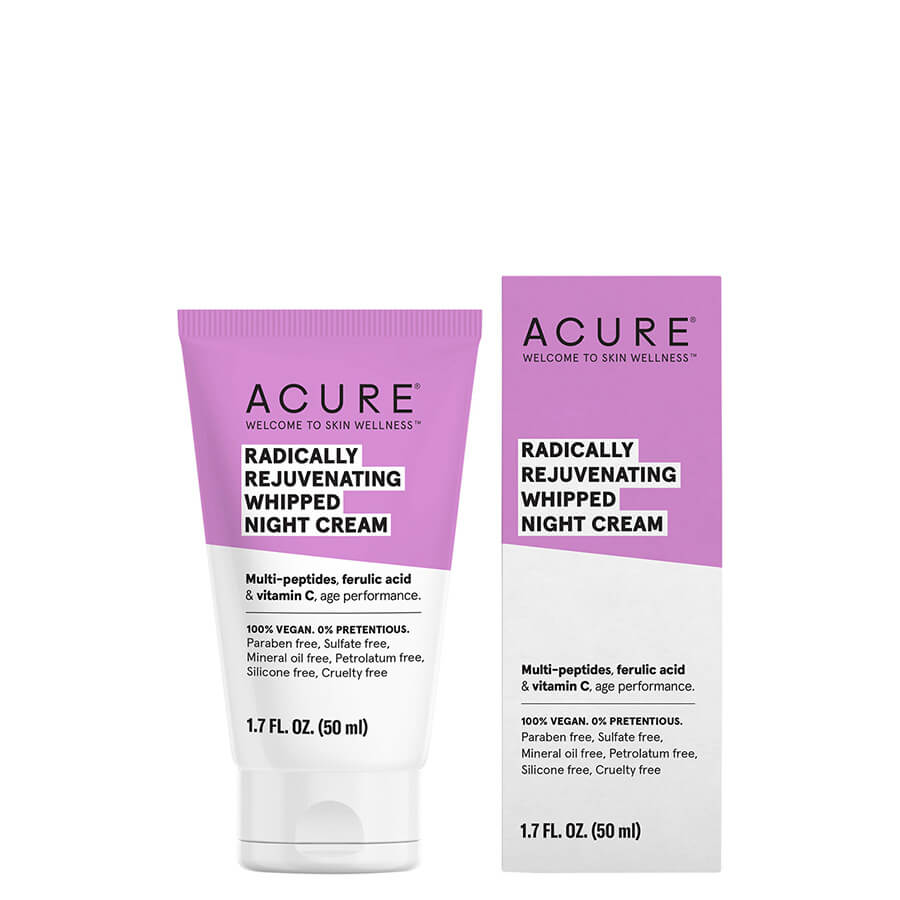 ACURE Radically Rejuvenating Whipped Night Cream - Natural Supply Co