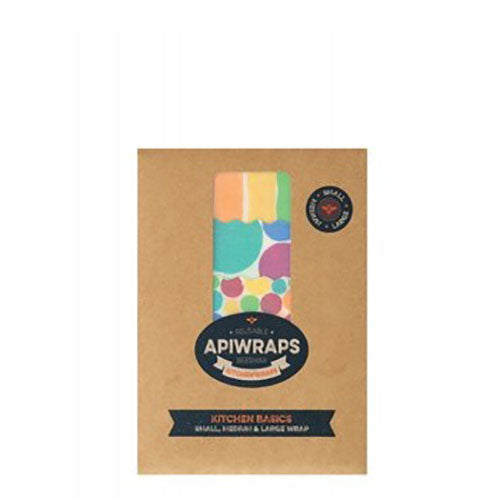 Apiwraps Reusable Beeswax Kitchen Wrap - Kitchen Basics - Natural Supply Co