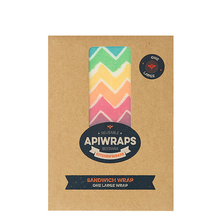 Apiwraps Reusable Beeswax Kitchen Wrap - Sandwich Wrap - Natural Supply Co