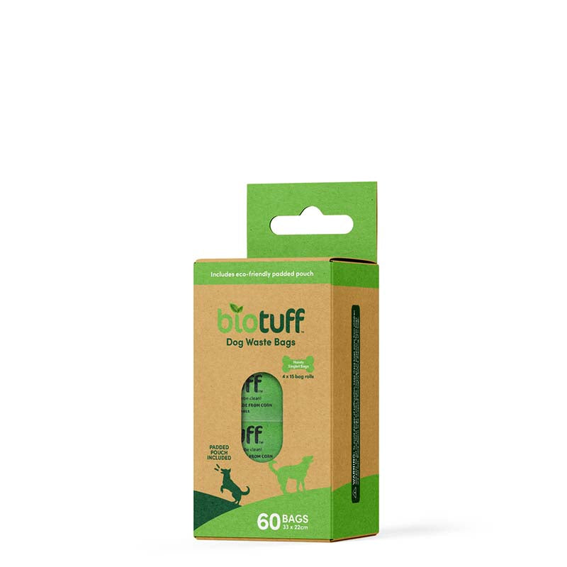 BIOTUFF Compostable Dog Waste Bags