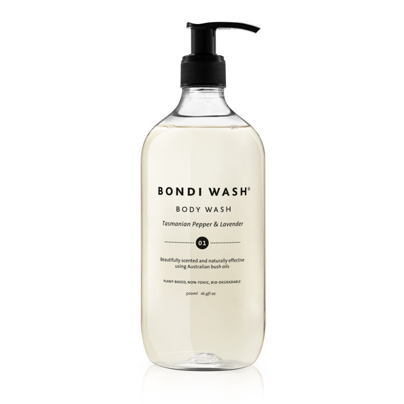 Bondi Wash Tasmanian Pepper & Lavender Body Wash 500ml - Natural Supply Co