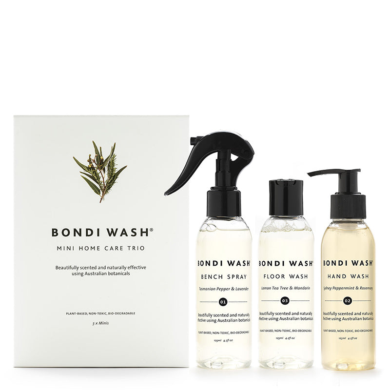 Bondi Wash Mini Home Care Gift Pack Trio - Natural Supply Co
