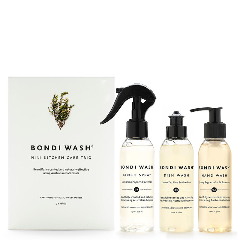 Bondi Wash Mini Kitchen Gift Pack Trio at Natural Supply Co